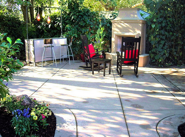 patio finish