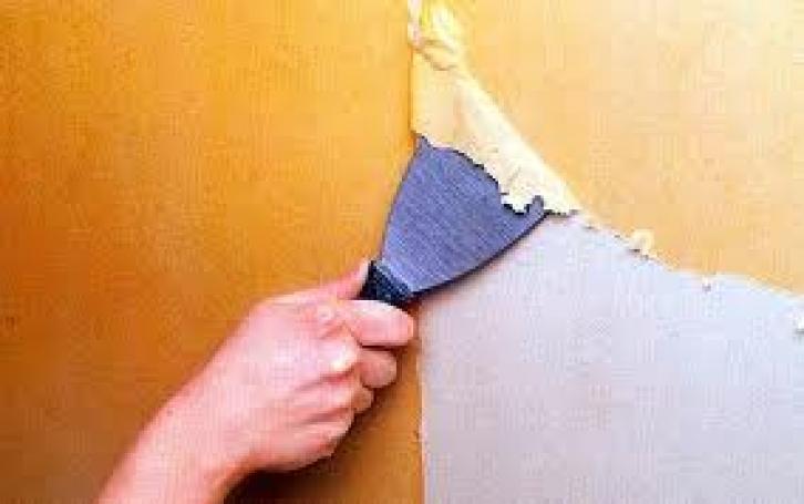 Методы удаления обоев со стен